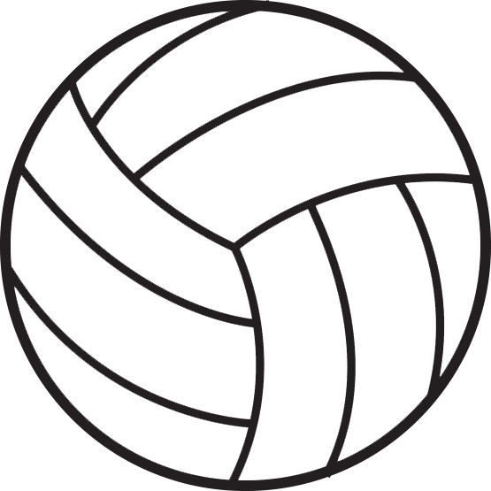 Volleyball transparent background clipart png black and white library Volleyball PNG Images Transparent Free Download | PNGMart.com png black and white library