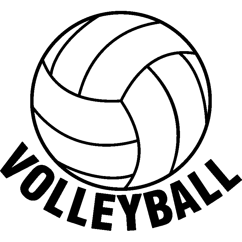 Volleyball transparent background clipart image royalty free stock Volleyball Sticker Sport Clip art - volleyball png download ... image royalty free stock