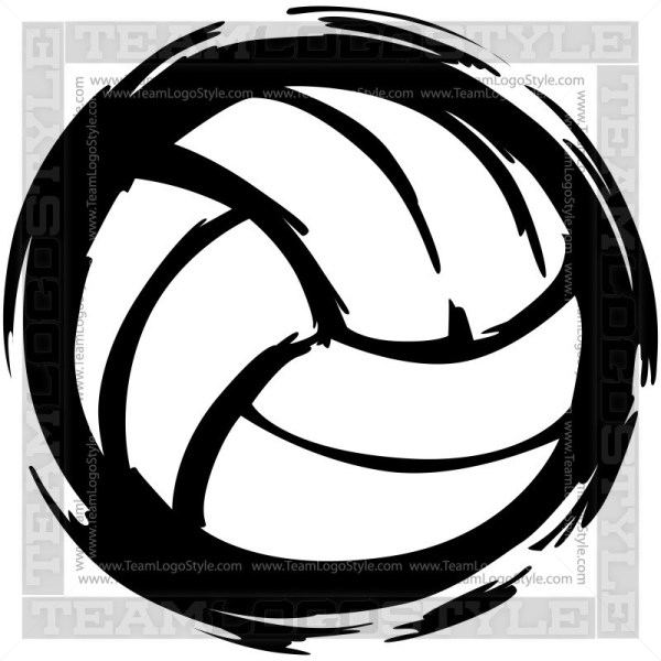 Volleyball vector clipart png library download Vector Volleyball - Vector Clipart Graphic Volleyball Ball png library download