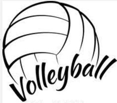 Volleyball with name clipart black and white Volleyball Images Free Clipart | Free download best ... black and white