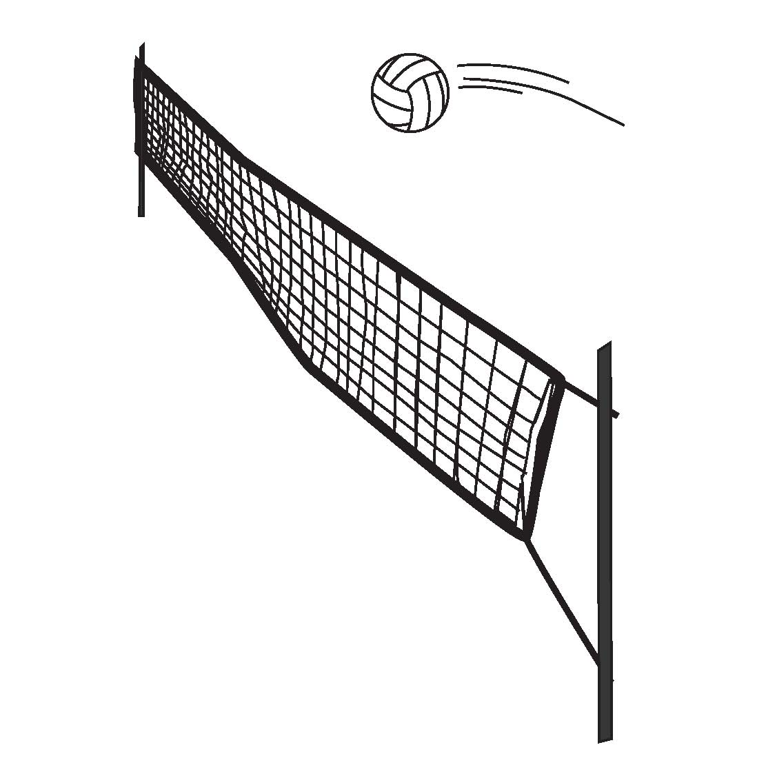 Volleyball with net clipart freeuse stock 102+ Volleyball Net Clipart | ClipartLook freeuse stock
