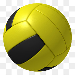 Volleyball yellow white clipart graphic free download Download Free png Volleyball And Yellow Railing, Volleyball ... graphic free download