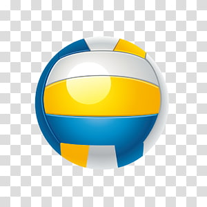 Volleyball yellow white clipart clip freeuse download Volleyball transparent background PNG clipart   PNGGuru clip freeuse download