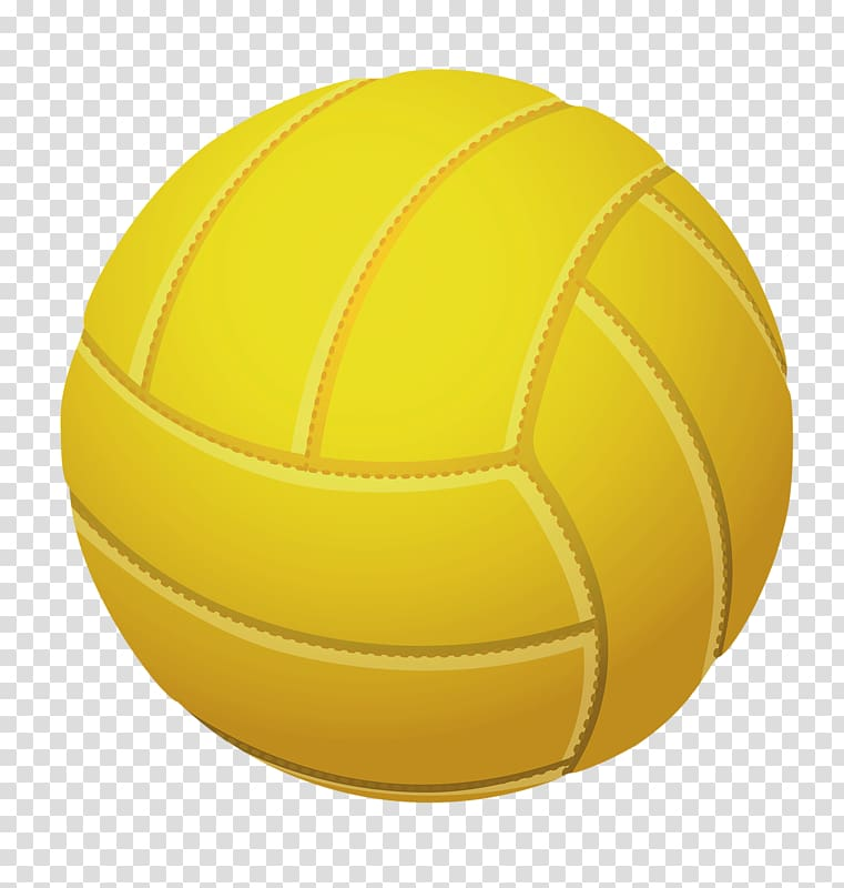Volleyball yellow white clipart jpg library Beach volleyball, Yellow volleyball transparent background ... jpg library