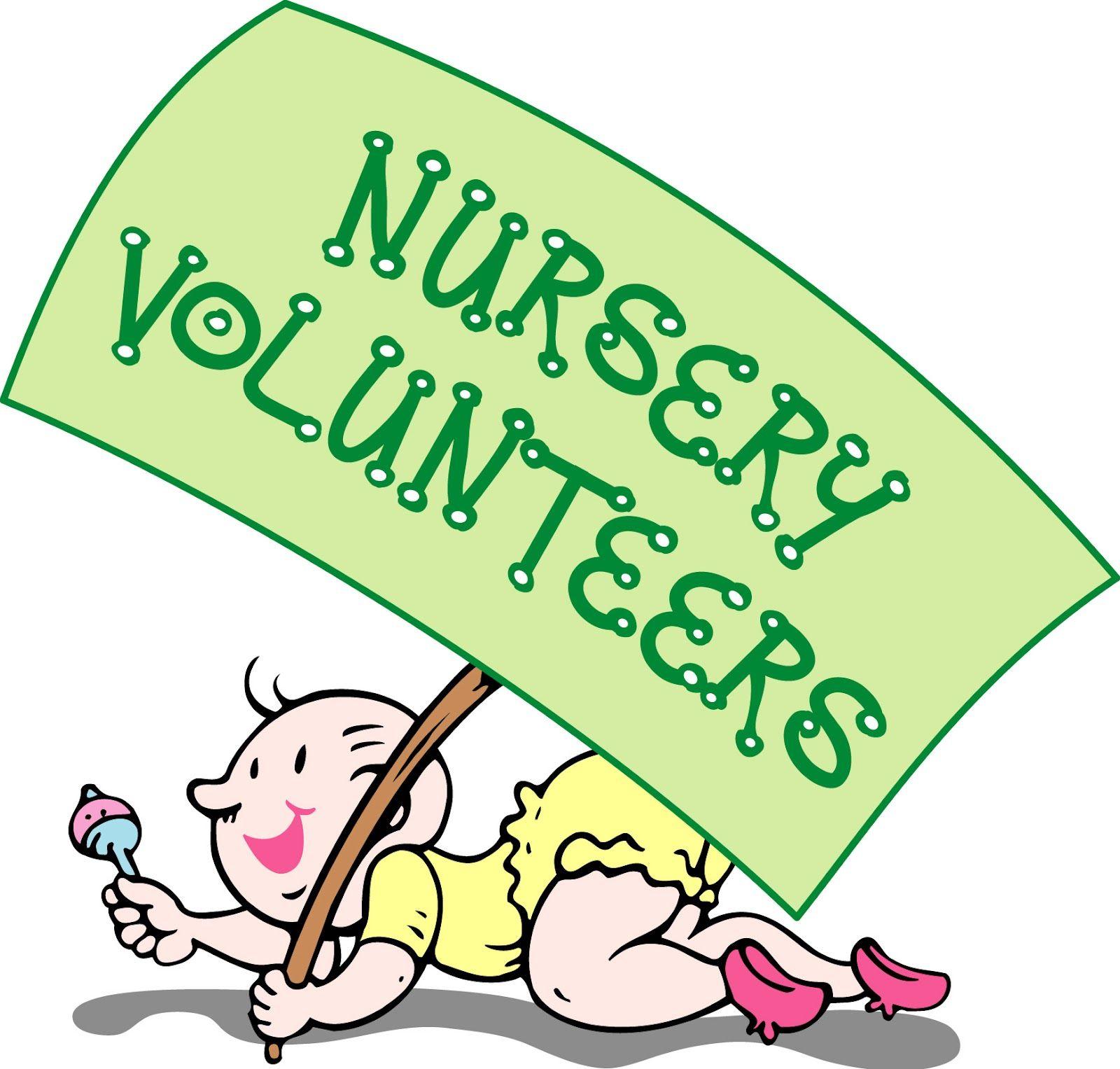Volunteer at church clipart clip stock Nursery Volunteers | For The Wee Ones | Church nursery ... clip stock