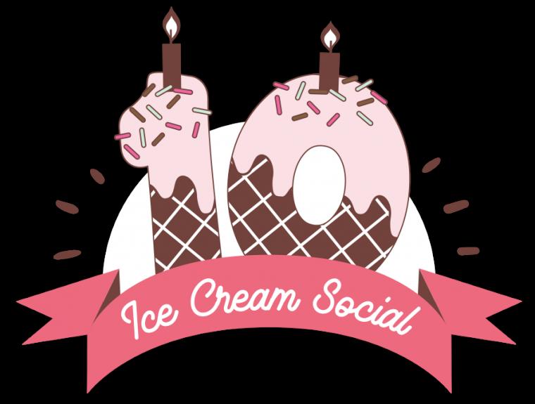 Volunteer crown image clipart png Ice Cream Social | Kate's Kart png