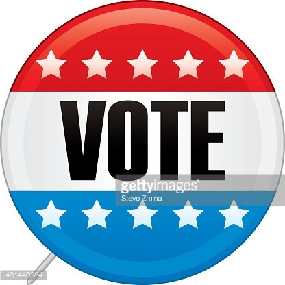 Vote clipart 2016 picture free stock Presidential Election Voters Pin 2016 premium clipart ... picture free stock