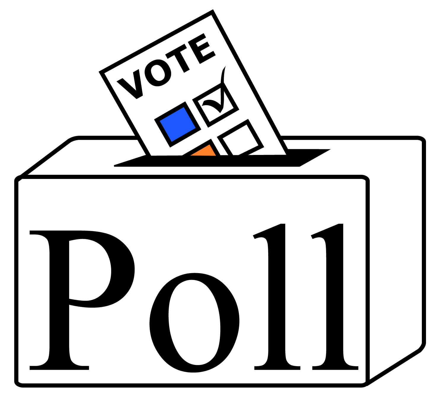Vote for me black and white clipart picture free library Vote For Me Logo Png Images picture free library