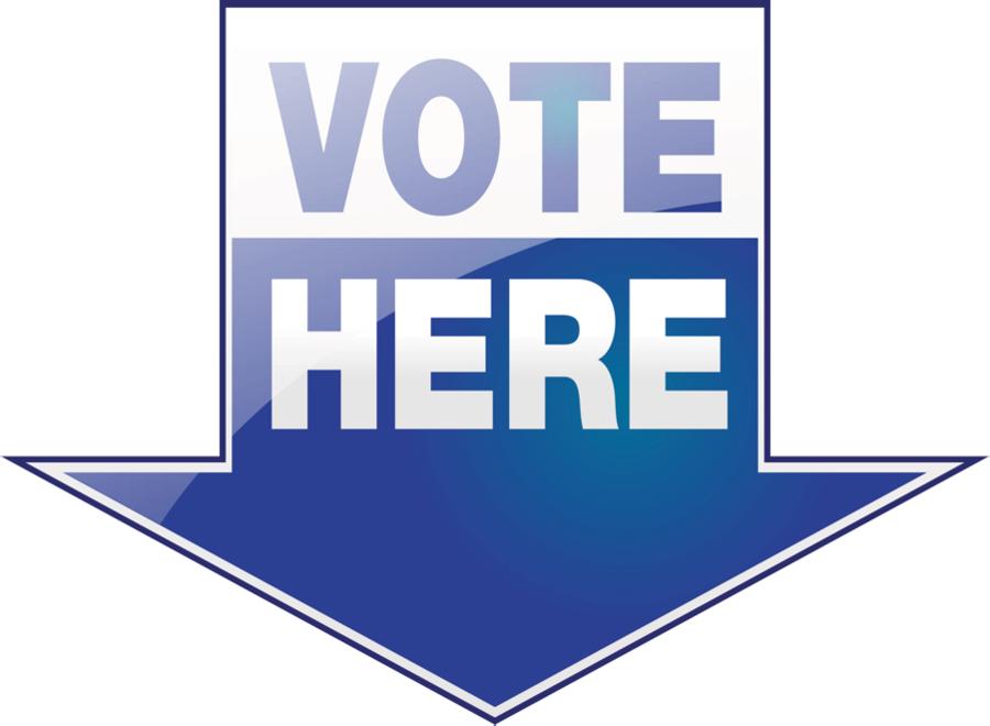 Vote here clipart download Line Logo clipart - Blue, Text, Product, transparent clip art download