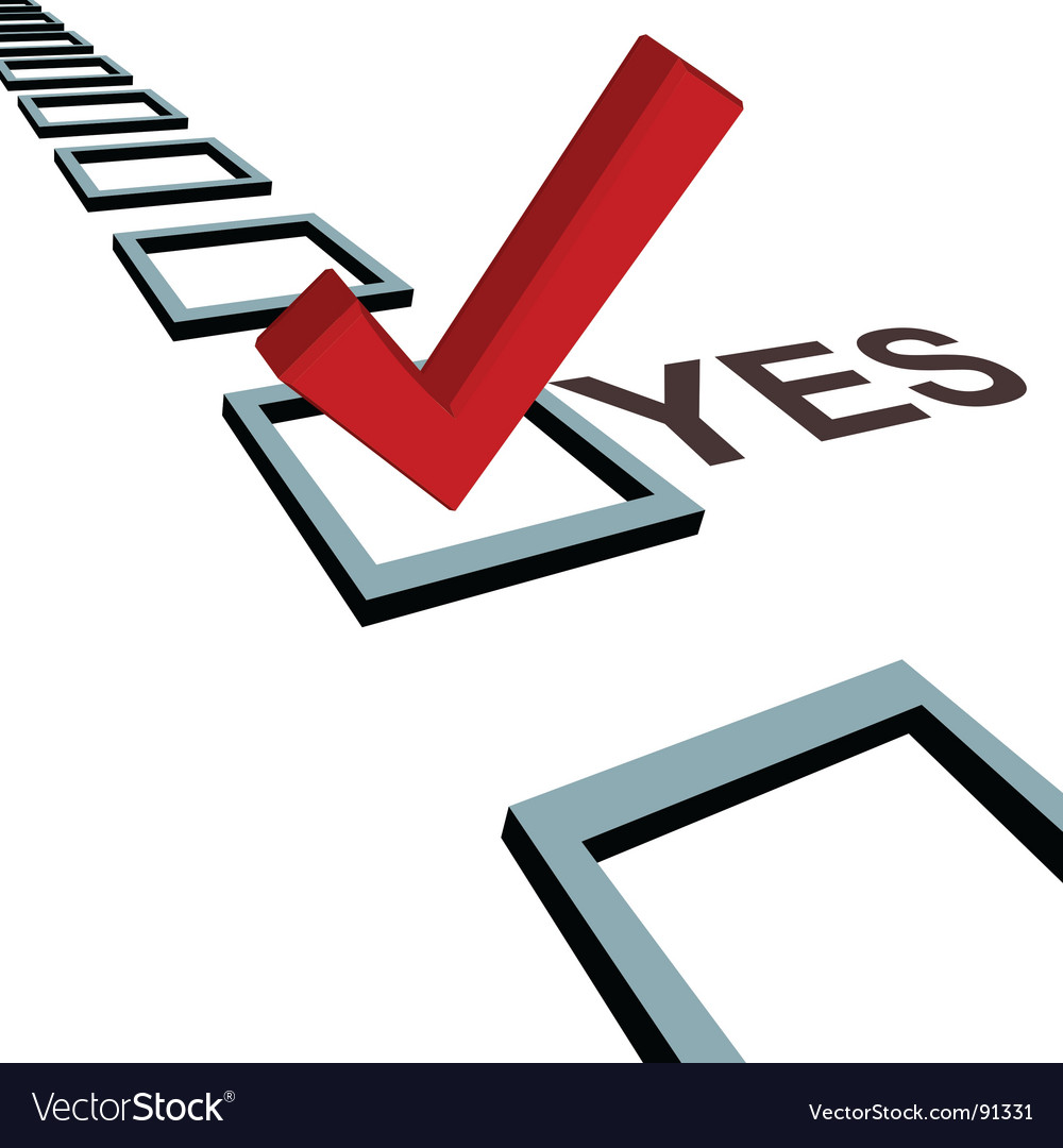 Vote yes free clipart jpg freeuse download Vote yes jpg freeuse download