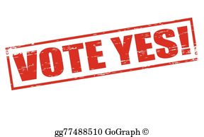 Vote yes free clipart svg transparent library Vote Yes Clip Art - Royalty Free - GoGraph svg transparent library