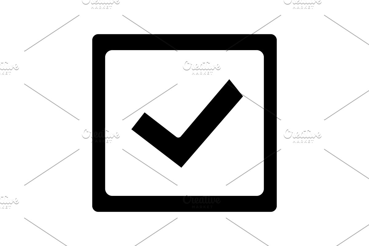 Voter checkbox clipart banner freeuse Checkbox glyph icon banner freeuse