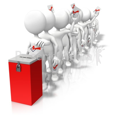 Voting line clipart png library library Voting Line Ballot Box - Presentation Clipart - Great ... png library library