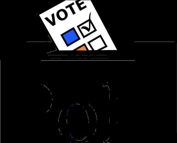Voting status clipart clipart transparent download Vote Clipart Canadian Election - Voting Poll - Png Download ... clipart transparent download