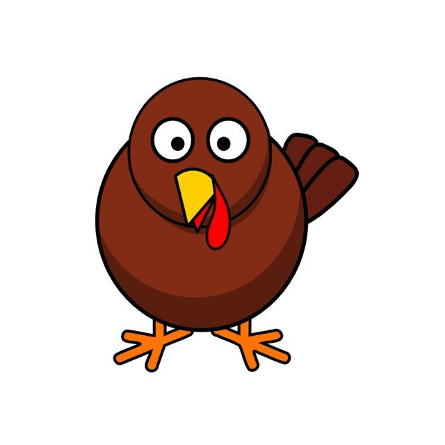 Voting turkey clipart