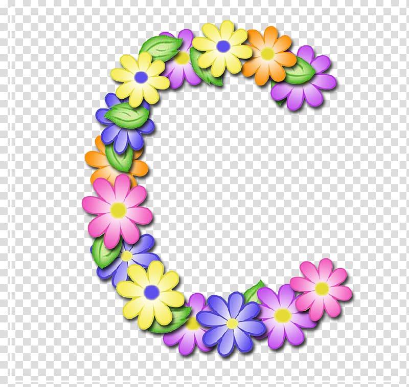 Vowel patterns clipart banner black and white Multicolored floral C art, Flower Alphabet Letter Syllable ... banner black and white