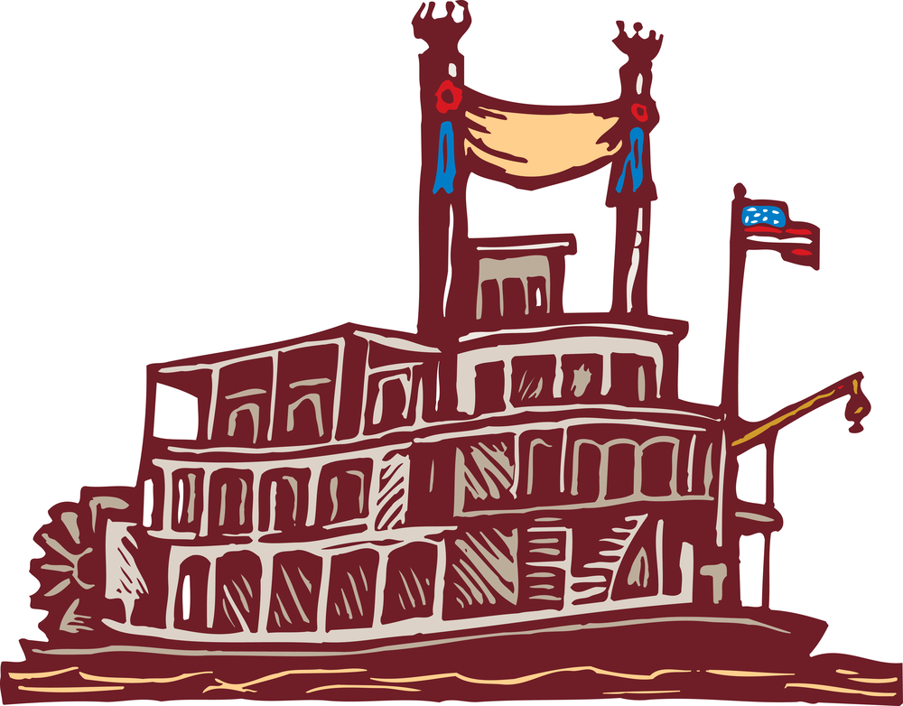 Voyage on the mississippi clipart clip free stock Meet American Cruise Lines\' New Riverboat, America! | USA ... clip free stock