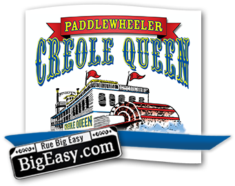 Voyage on the mississippi clipart image black and white download Creole Queen | New Orleans Paddlewheeler Mississippi River ... image black and white download