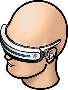 Vr sports clipart vector freeuse Virtual Reality Vr Goggles premium clipart - ClipartLogo.com vector freeuse