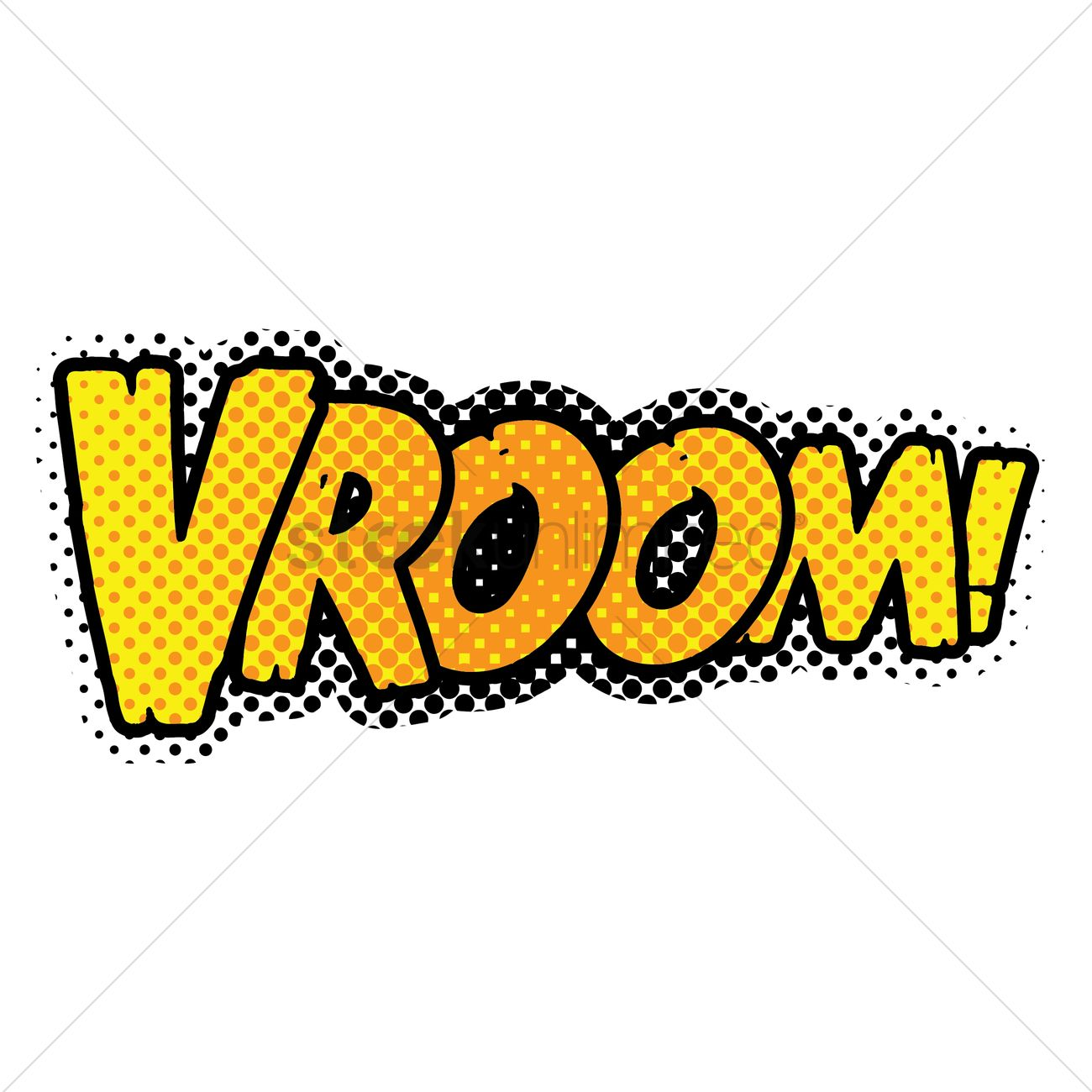 Vroom vroom sign clipart free clip art transparent download Vroom text with comic effect Vector Image - 1823063 ... clip art transparent download