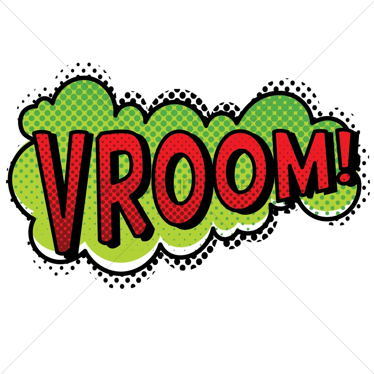 Vroom vroom sign clipart free clipart transparent library Vroom text with comic effect Vector Image - 1823033 ... clipart transparent library