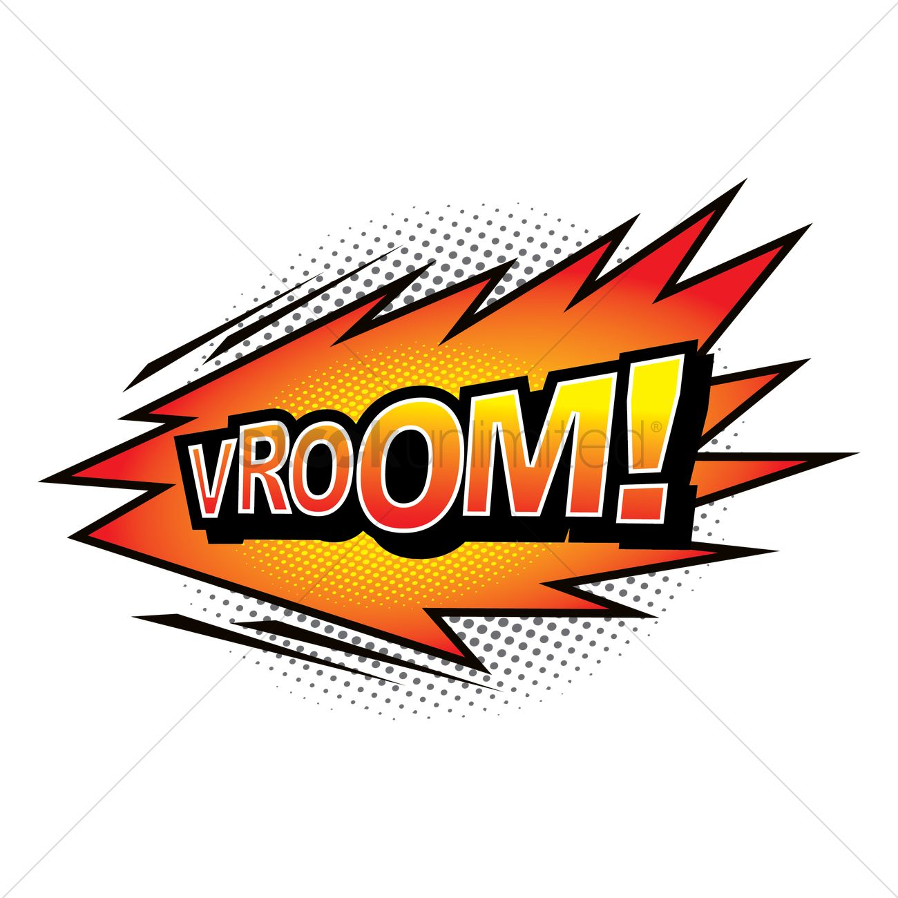 Vroom vroom sign clipart free image free Vroom comic speech bubble Vector Image - 1711047 ... image free