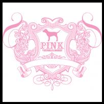 Vs pink clipart svg transparent download Victoria secret stripes clipart - ClipartFox svg transparent download