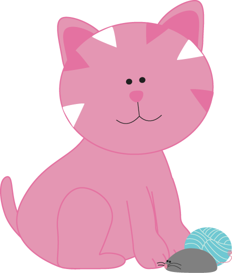 Vs pink clipart jpg free library Cat Clip Art - Cat Images jpg free library