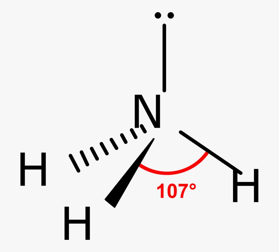 Vsepr theory clipart graphic transparent stock Molecular Geometry Vsepr Theory Ammonia Molecule Chemical ... graphic transparent stock