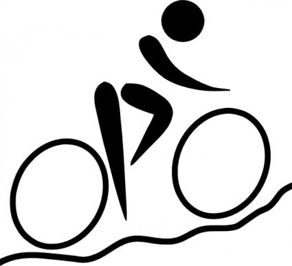 Vtt image clipart picture freeuse download Sports Olympiques, Vélo De Montagne VTT Pictogramme Images ... picture freeuse download