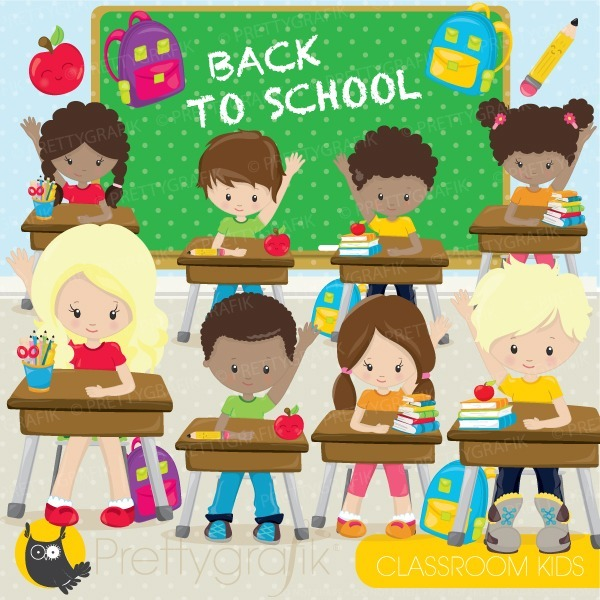 Vuelta clipart vector black and white library Kit Imprimible Vuelta Al Cole Back To School #3 Clipart vector black and white library