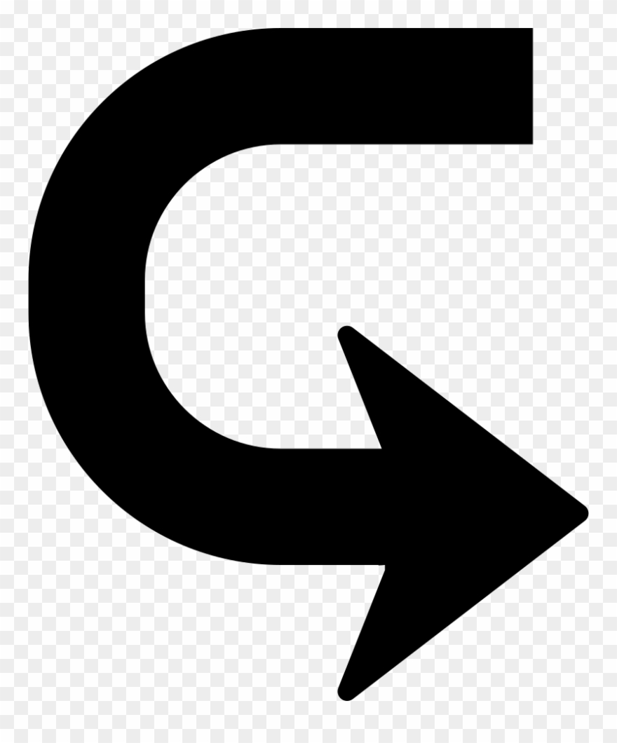 Vuelta clipart vector free Arrow In U Shape To Turn Comments - Flecha A La Vuelta ... vector free