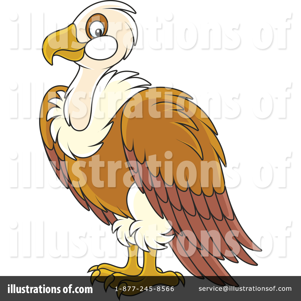 Vulture image clipart banner royalty free download Vulture Clipart #1445906 - Illustration by Alex Bannykh banner royalty free download