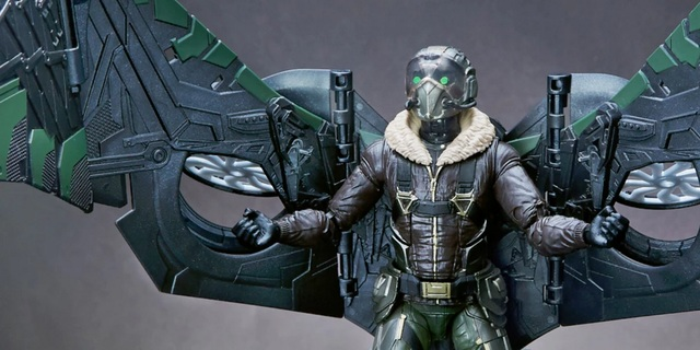 Vulture marvel clipart freeuse download First Look At Marvel Legends Vulture Action Figure From SPIDER-MAN ... clipart freeuse download