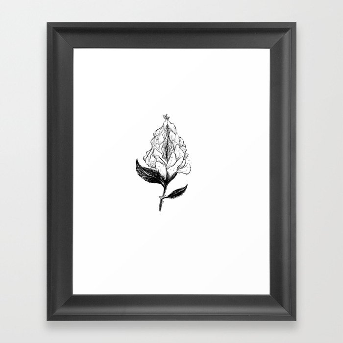 Vulve clipart picture free library magical vulve Framed Art Print picture free library