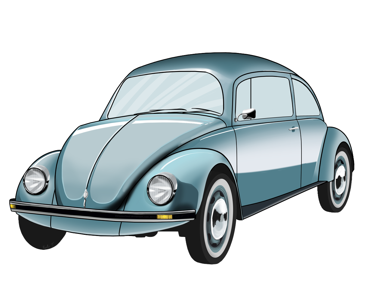Vw beetle clipart image free download Vw Bug Clipart   craft ideas   Places, Volkswagen, Cars ... image free download