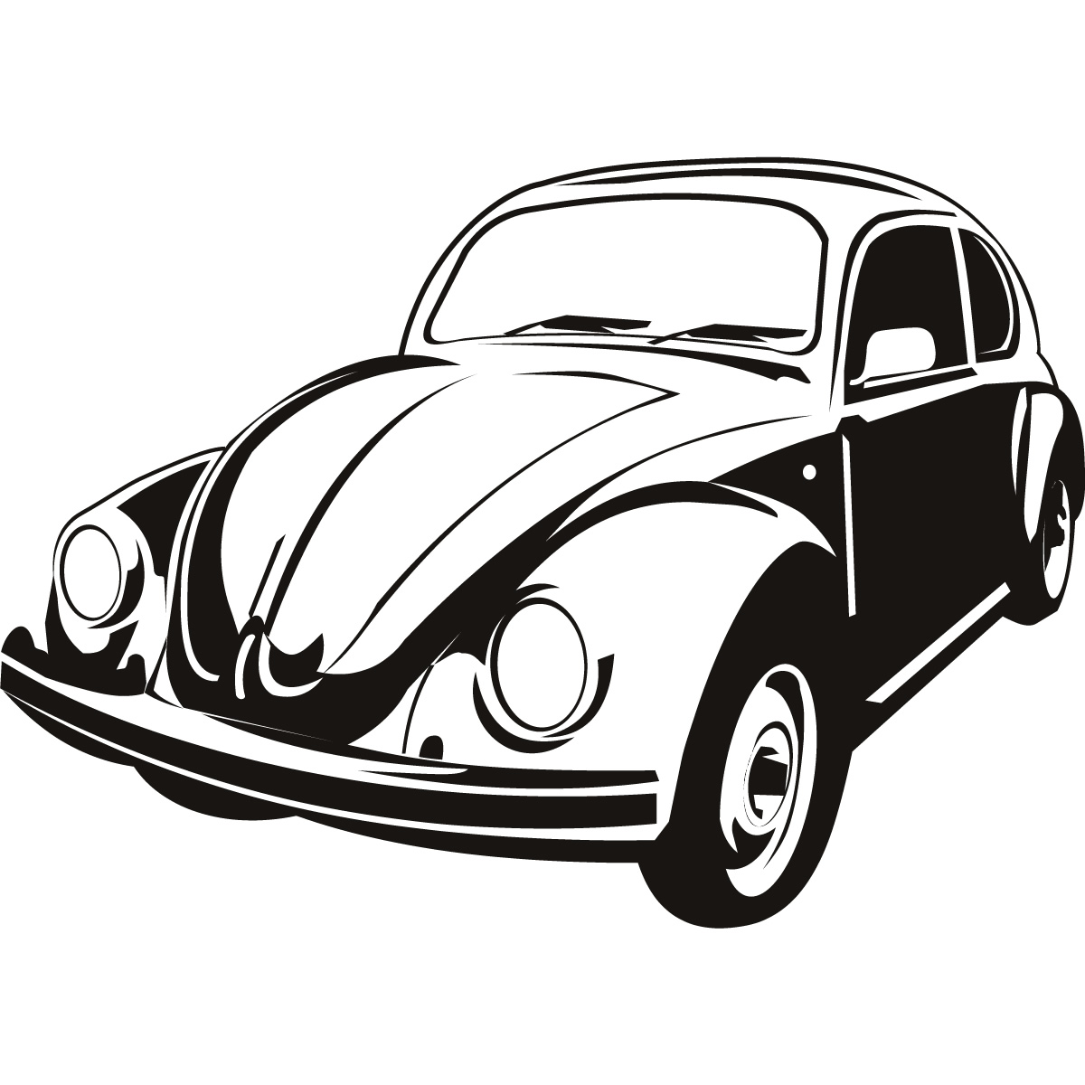 Vw beetle clipart graphic royalty free Free Volkswagen Beetle Cliparts, Download Free Clip Art ... graphic royalty free