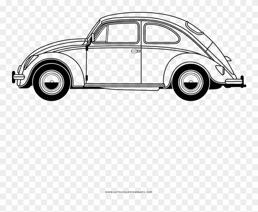 Volkswagen beetle with flowers clipart svg transparent Auto Ausmalbilder Ultra Coloring Pages - Volkswagen Beetle ... svg transparent