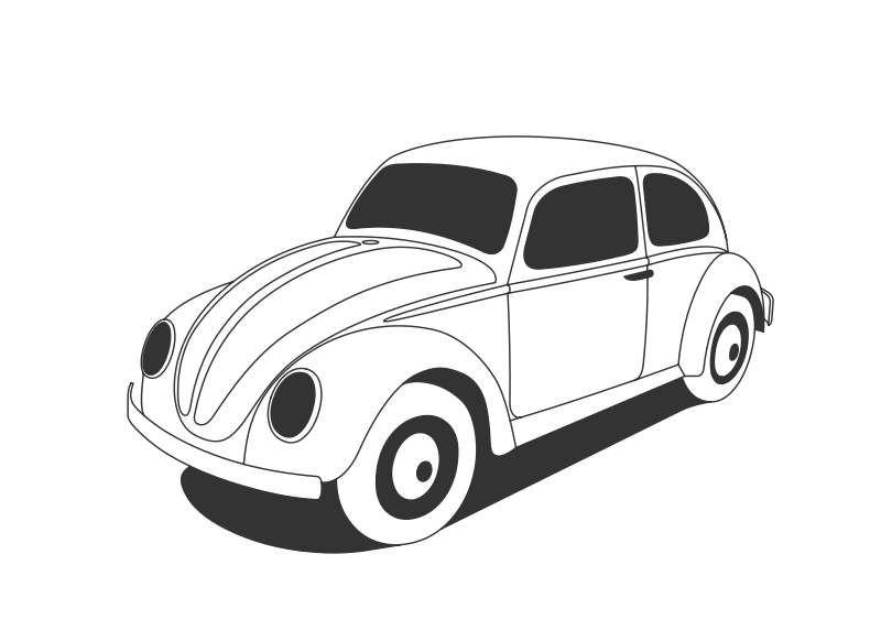 Vw beetle clipart banner royalty free download Free Clipart: VW Beetle Classic   vlodco_zotov banner royalty free download