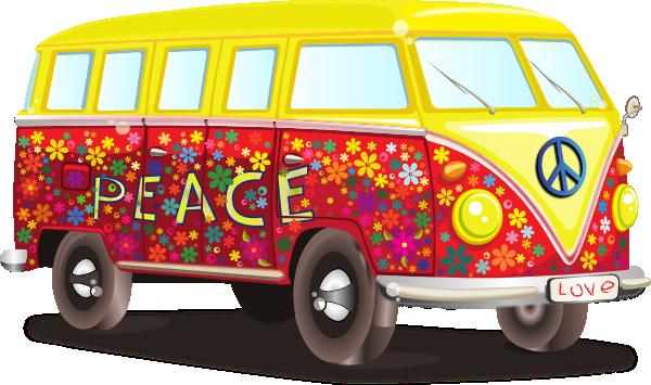 Vw bus hippie clipart clip art free library Hippy Vw Bus Clip Art at Clker.com - vector clip art online ... clip art free library