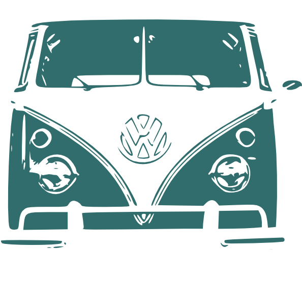Vw camper cartoon clipart svg black and white library Vw Camper Van Clip Art at Clker.com - vector clip art online ... svg black and white library