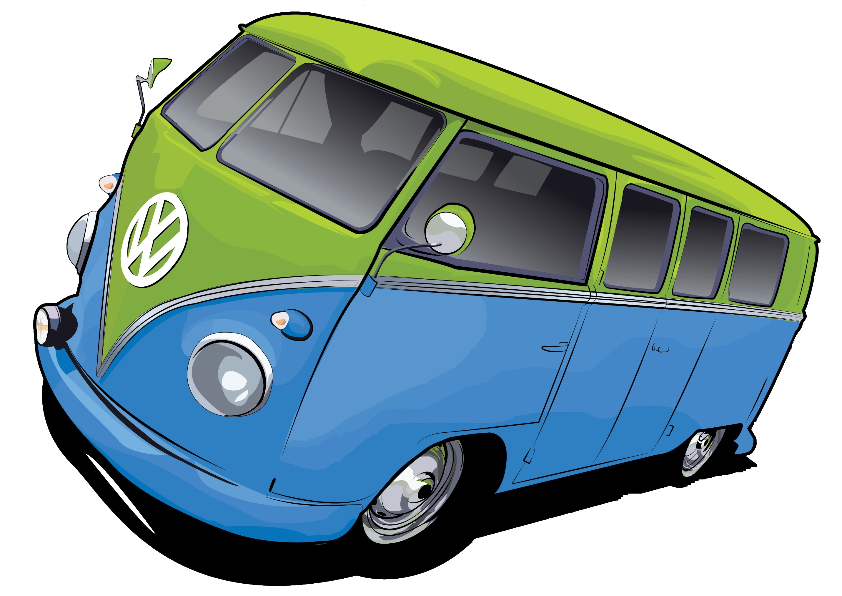 Vw camper cartoon clipart image library download Vw Bus Karikatur Group with 56+ items image library download