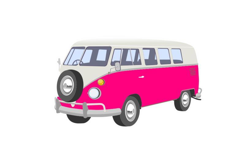 Vw camper cartoon clipart jpg royalty free stock Download vw camper van cartoon clipart Volkswagen Type 2 Van jpg royalty free stock