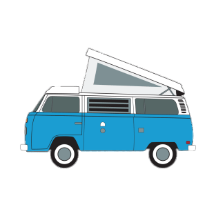 Vw camper clipart vector freeuse library Extended Volkswagen Camper Van Clipart transparent PNG ... vector freeuse library