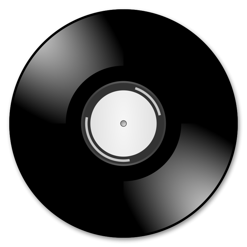 Vynal record clipart image stock Free Clipart: Vinyl records | BenBois image stock