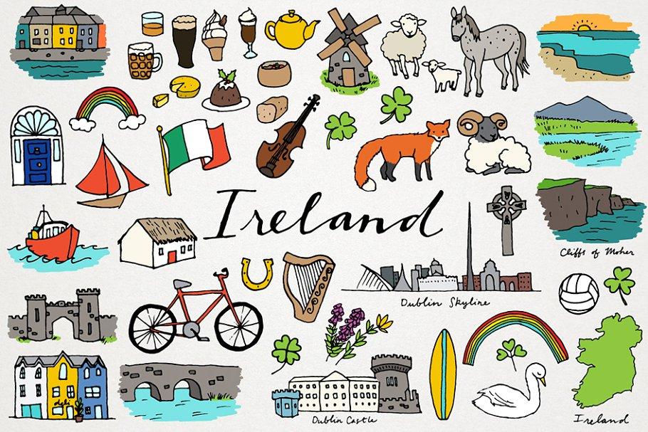 Wac clipart image transparent download Ireland Clipart Illustrations image transparent download