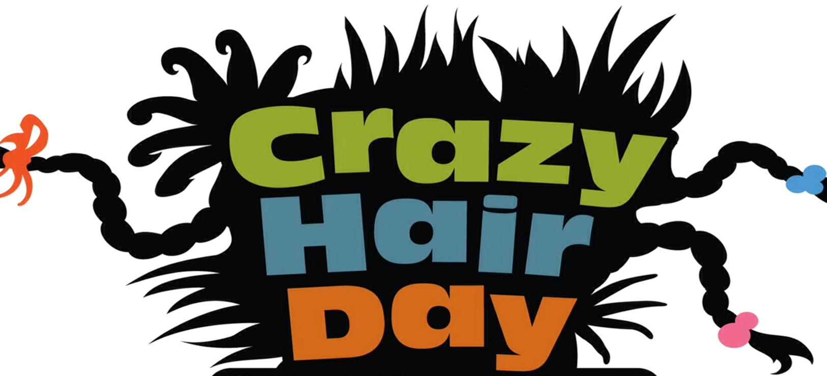 Wacky hair day clipart picture black and white stock Crazy Hair Clipart   Free download best Crazy Hair Clipart ... picture black and white stock