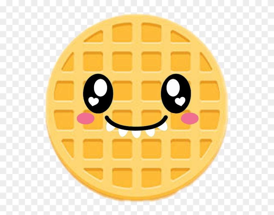 Papel de parede clipart image library Cute Waffle❤ Emoji Waffle Kawaiiwafflefreetoedit - Fofo ... image library