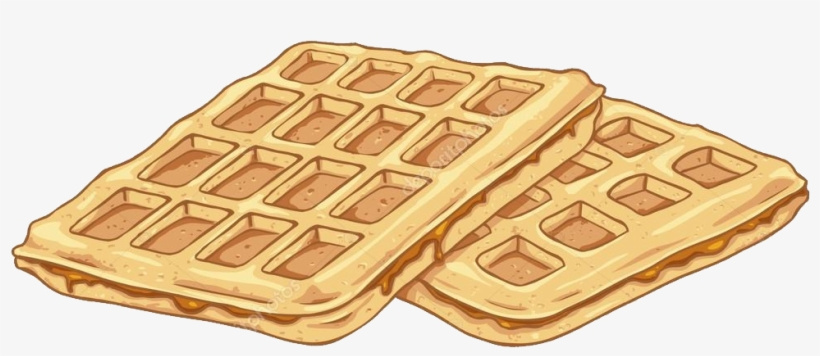 Waffle clipart cute picture free library Breakfast Clipart Transparent Background - Waffles Clipart ... picture free library
