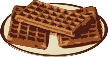 Waffle clipart free clip library Free Waffles Clipart and Vector Graphics - Clipart.me clip library